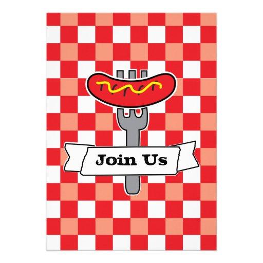BBQ Picnic Invitation