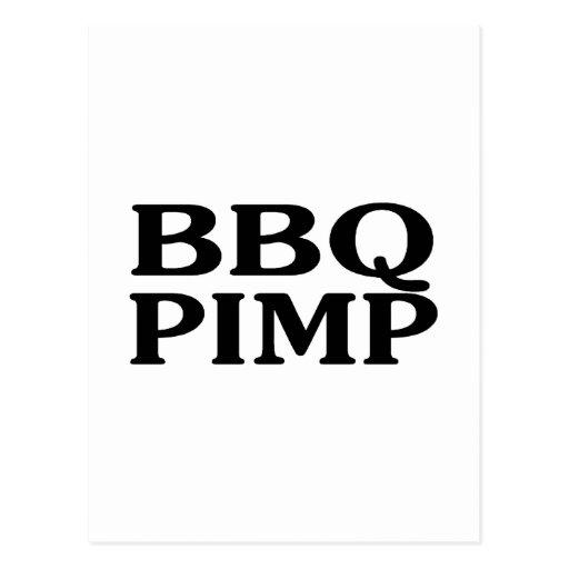 BBQ Pimp Postcard