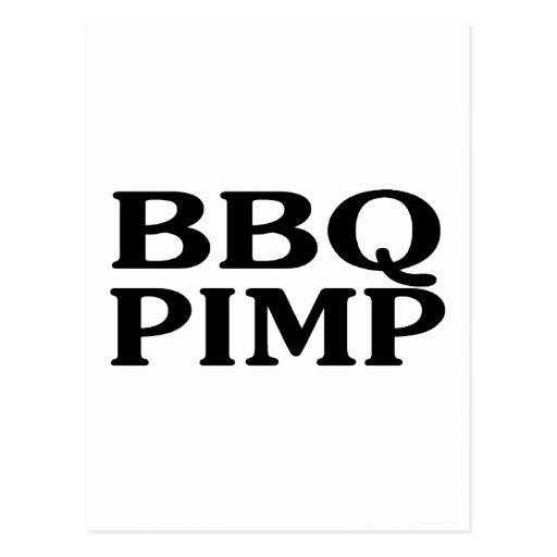 BBQ Pimp Postcards