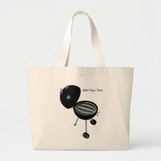BBQ Pit & Grill Tote Bag
