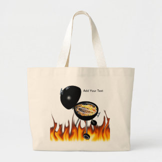 BBQ Pit & Grill on Fire Bags