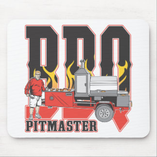 BBQ Pit Master Mouse Pad