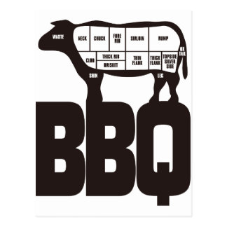 BBQ POST CARDS