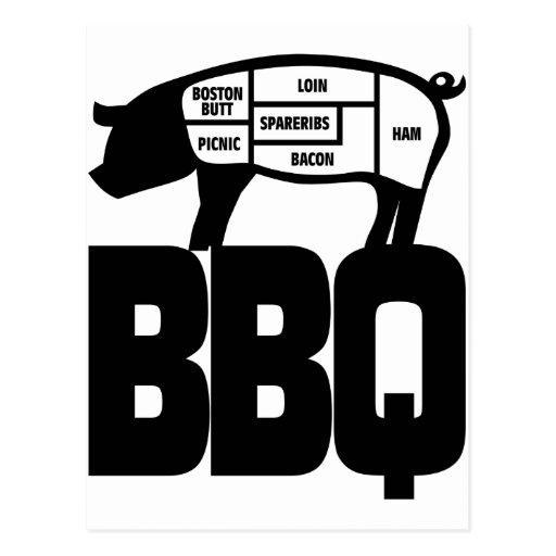 BBQ POSTCARDS