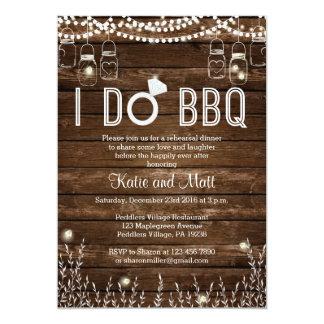 BBQ Rehearsal Dinner Invitation