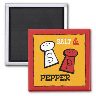 BBQ Salt & Pepper Kitchen Magnet