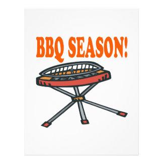 BBQ Season 21.5 Cm X 28 Cm Flyer