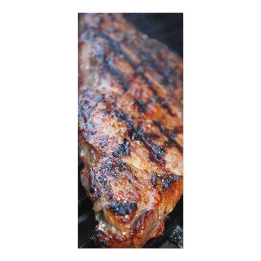 BBQ Steak Rack Card
