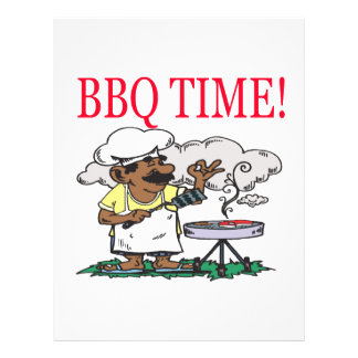 BBQ Time Custom Flyer