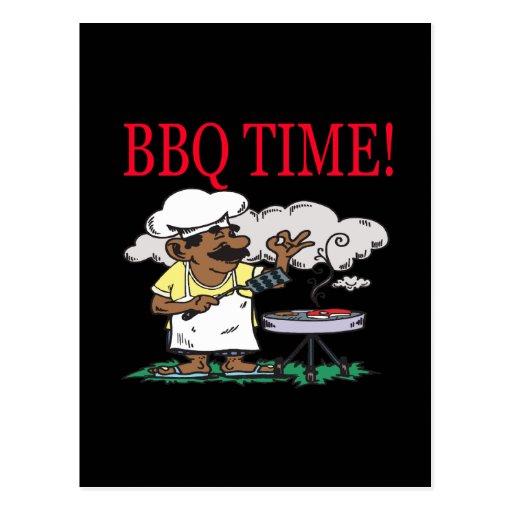BBQ Time Postcard