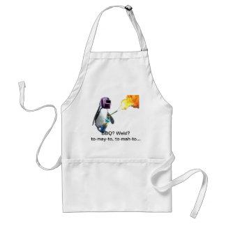 BBQ welding penguin Standard Apron