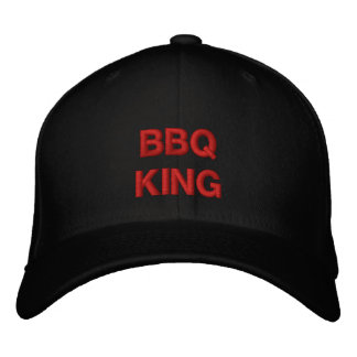 BBQKING EMBROIDERED BASEBALL CAP