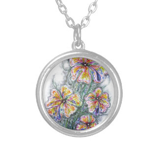 bBunch of wildflowers Necklaces