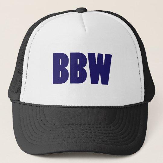 BBW TRUCKER HAT