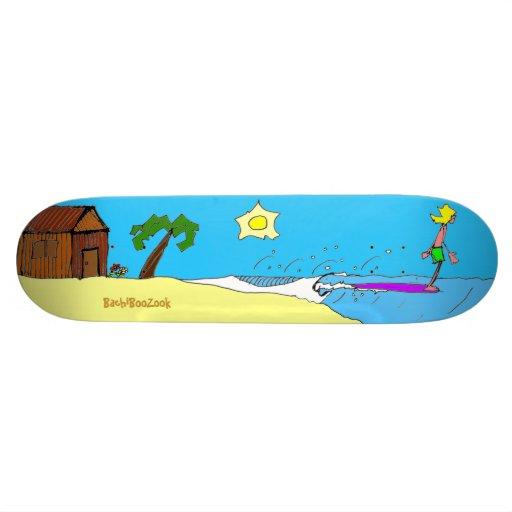 BBZ Cruiser Skateboard Deck