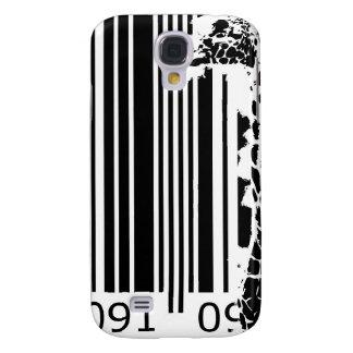 bc01 Bar Code Art Design Vector Fun Color Galaxy S4 Cover