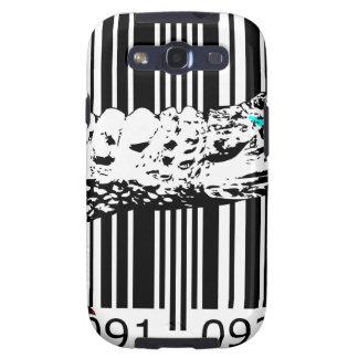bc08 Bar Code Art Design Vector Fun Color Galaxy S3 Covers