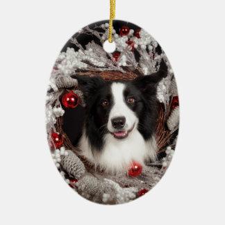 BC Christmas Christmas Ornament