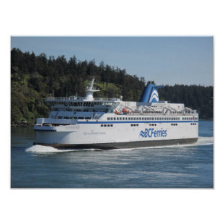 BC Ferries Spirit Vessel Poster