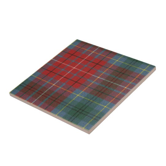 BC Tartan Print on Ceramic Tile
