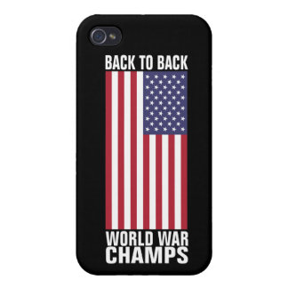 Bcak to Back World War Champs iPhone 4/4S Case