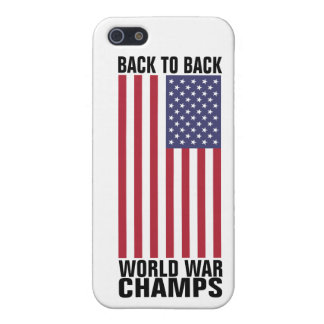 Bcak to Back World War Champs iPhone 5/5S Case