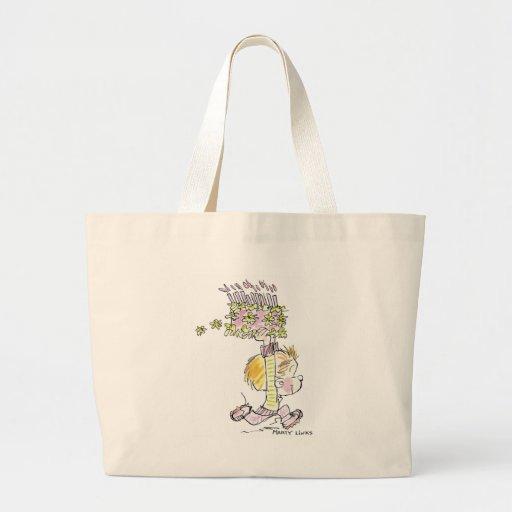 BD-001a Birthday Boy Running Tote Bags