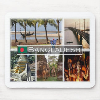 BD Bangladesh - Inani beach - Jamuna Bridge Mouse Mat