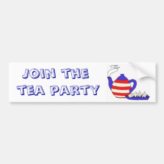 BD- Join the Tea Party Sticker Bumper Stickers