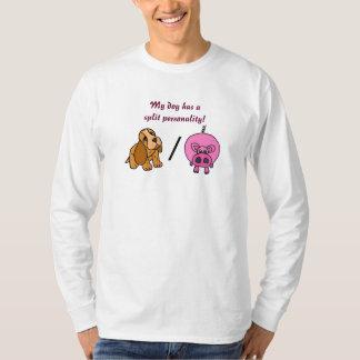 BD-  My dog has a split personality shirt. Tee Shirts
