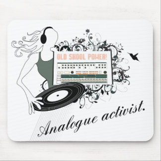 [ BD ] Old Skool Power - Celebration of Analogue Mouse Pad