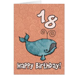 bd whale - 18 card
