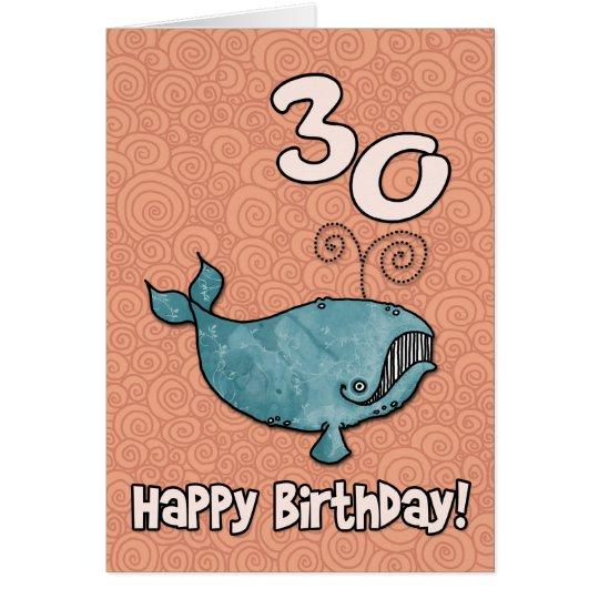 bd whale - 30 card