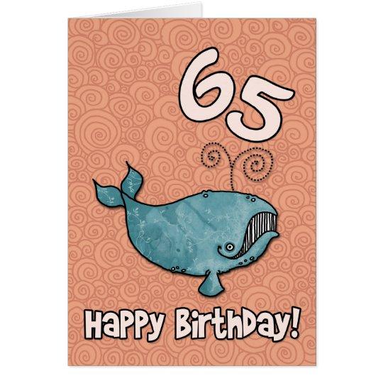 bd whale - 65 card