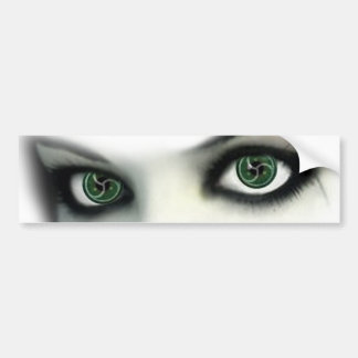 BDSM EYES BUMPER STICKER