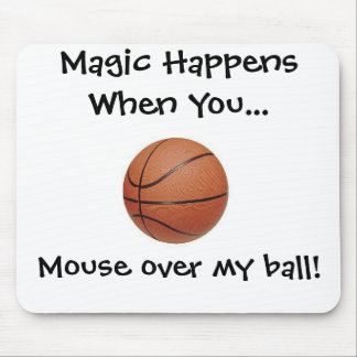 Be A Baller Mouse Pad