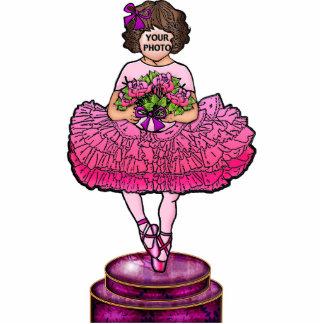 Be a Ballerina (Brunette) Standing Photo Sculpture