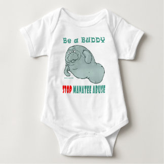 Be a Buddy, Manatee Rights - Manatee Abuse T-shirt
