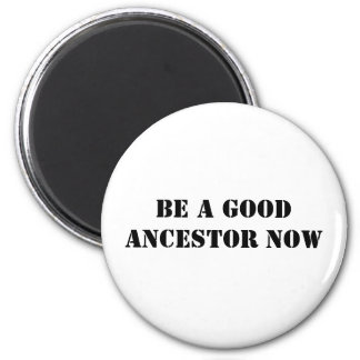 Be A Good Ancestor Now Magnet