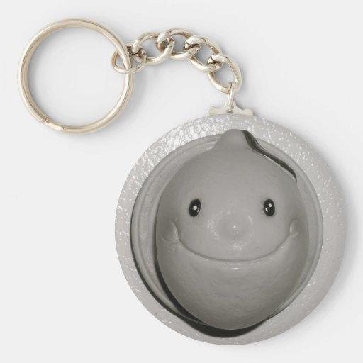 Be a Happy Lemon Key Chains
