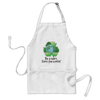 Be A Hero, Recycle BBQ Apron