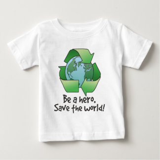 Be A Hero, Recycle Infant T-Shirt