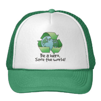 Be A Hero, Recycle Trucker Hat