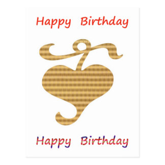 Be a Leader - Be Different :  Happy Birthday Postcard