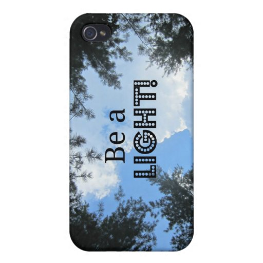 Be a light! iPhone 4/4S covers