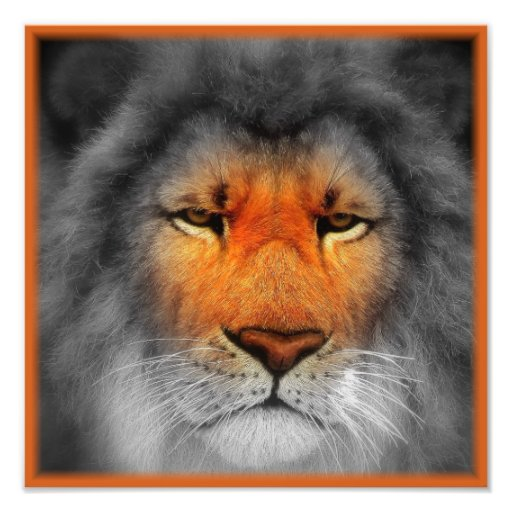 Be A Lion Art Photo