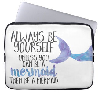 Be a Mermaid 13 inch Laptop Sleeve