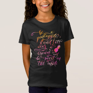 BE A pin Apple: stood tall, wear A crown, for BE T-Shirt