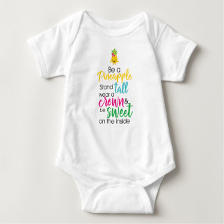 Be a pineapple baby bodysuit