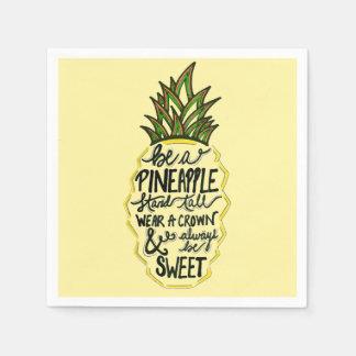 Be A Pineapple Disposable Serviette